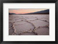 Framed California, Death Valley Salt Flats