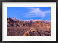 Framed Mount Whitney, Lone Pine, California