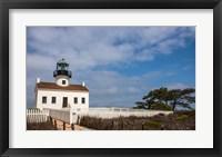 Framed Old Point Loma Lighthouse
