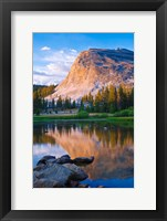 Framed Lembert Dome And The Tuolumne River