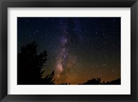 Framed Milky Way Above Dusy Basin, Kings Canyon National Park