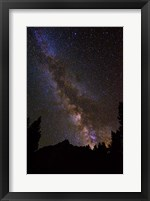 Framed Milky Way Over The Palisades