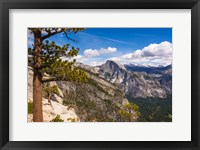 Framed Half Dome From Yosemite Point
