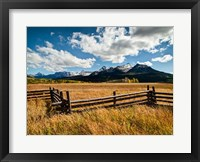 Framed Dallas Divide, Last Dollar Ranch, Colorado