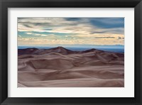 Framed Great Sand Dunes National Park And Sangre Cristo Mountains, Colorado