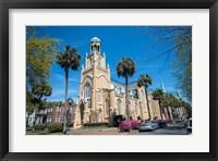 Framed Congregation Mickve Israel, Synagogue, Savannah, Georgia