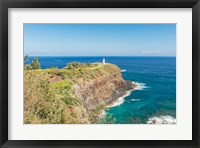 Framed Kilauea Lighthouse, Kauai, Hawaii