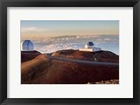 Framed Mauna Kea Observatory Hawaii