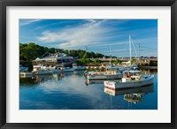 Framed Perkins Cove, Maine