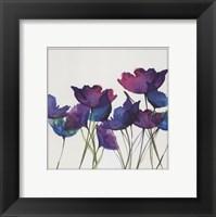 Framed Watercolor Garden 2