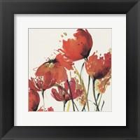 Framed Watercolor Garden 3