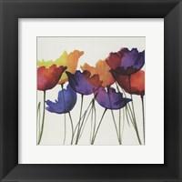 Framed Watercolor Garden 4