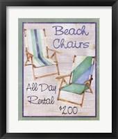 Framed Beach Chairs