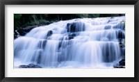 Framed Wide Cascade Of Bond Falls On The Ontonagon River