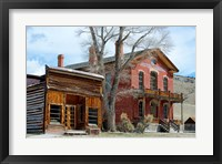 Framed 1862 Gold Rush Town In Bannack, Montana