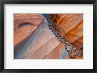 Framed Designs Of A Small Canyon On The White Dome Trail