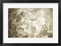 Framed Close-Up Of A Pile Of Rock Salt, York, Maine