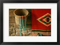 Framed Santa Fe Turquoise Necklaces, New Mexico