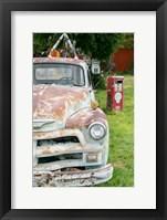 Framed Rusted Antique Automobile, Tucumcari, New Mexico