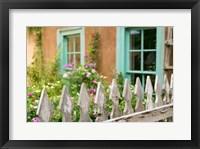 Framed Home Garden, Taos, New Mexico