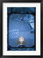 Framed Close Up Of The Antique Fresnel Lighthouse Beacon, Fire Island
