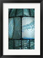 Framed Close Up Pattern Of The Antique Fresnel Lighthouse Beacon