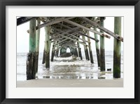 Framed Oceanic Pier, Wilmington, North Carolina