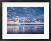 Framed Sunset From North Jetty Beach, Oregon