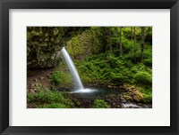 Framed Ponytail Falls, Oregon