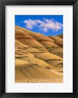 Framed Painted Hills Unit, John Day Fossil Beds National Monument, Oregon