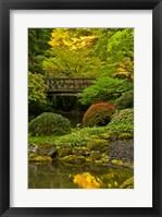 Framed Moon Bridge, Portland Japanese Garden, Oregon