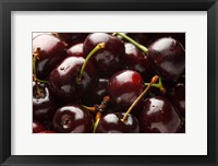 Framed Close-Up Of Fresh Cherries