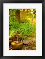 Framed Japanese Garden, Dundee, Oregon
