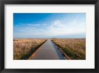 Framed Walkway Going Through The Badlands National Park, South Dakota