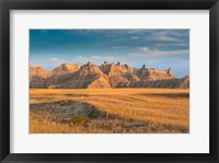 Framed Badlands National Park, South Dakota