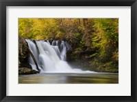 Framed Abrams Falls Landscape, Great Smoky Mountains National Park