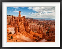 Framed Thor's Hammer At Bryce Canyon National Park