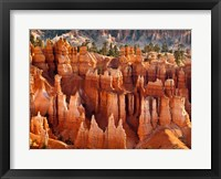 Framed Morning Light On The Hoodoos Of Bryce Canyon National Park
