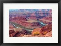 Framed Colorado River Gooseneck Formation, Utah