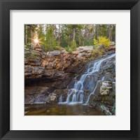 Framed Provo River Falls, Utah