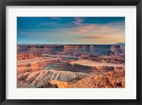 Framed Sunset At Deadhorse Point State Park