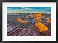 Framed Sunrise At Dead Horse Point State Park