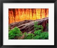 Framed Escalante Neon Canyon, Utah