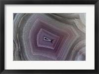 Framed Banded Agate I