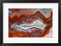 Framed Mexican Crazy Lace Agate II