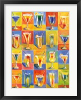 Framed Tropicocktails