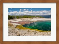 Framed Abyss Pool, West Thumb Geyser Basin, Wyoming