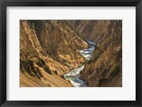 Framed Yellowstone River Landscape, Wyoming