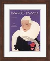 Framed Harper's Bazaar November 1932