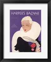 Framed Harper's Bazaar November 1932
